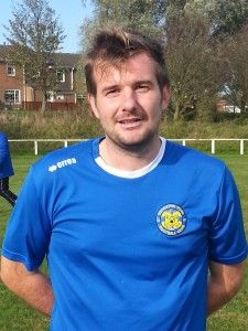 Club Captain Stav Roberts opened the scoring with a fine volley from the edge of the box following a corner.