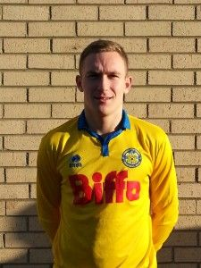 Anton made his first start for the Club at left back in todays 7 0 victory at Seaton Carew.