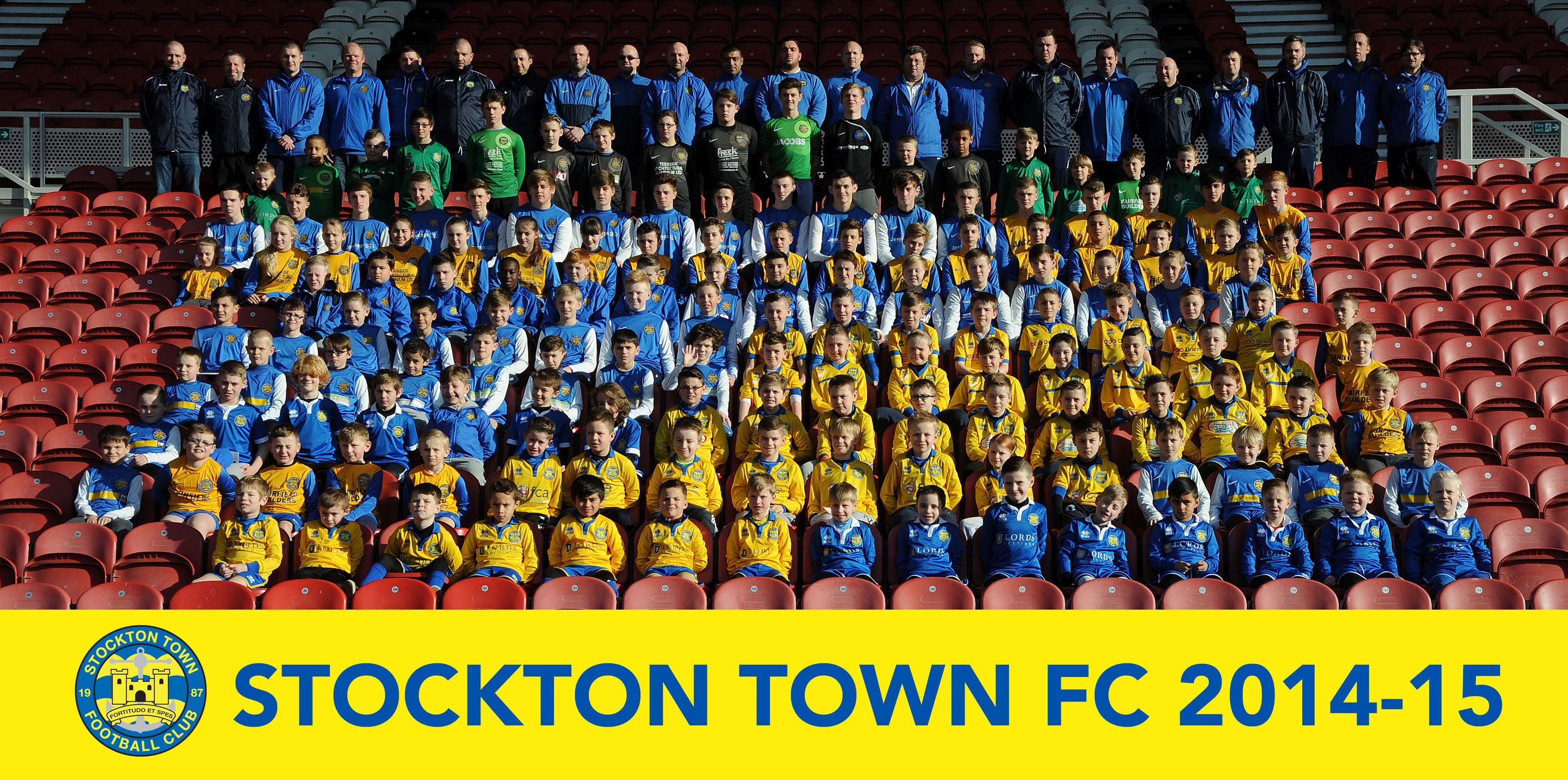 Stockton Town FC 2014-15