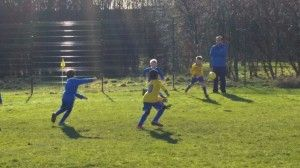 U8 Yellows v Royals Derby 08.02.15 1