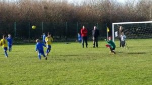 U8 Yellows v Royals Derby 08.02.15 2