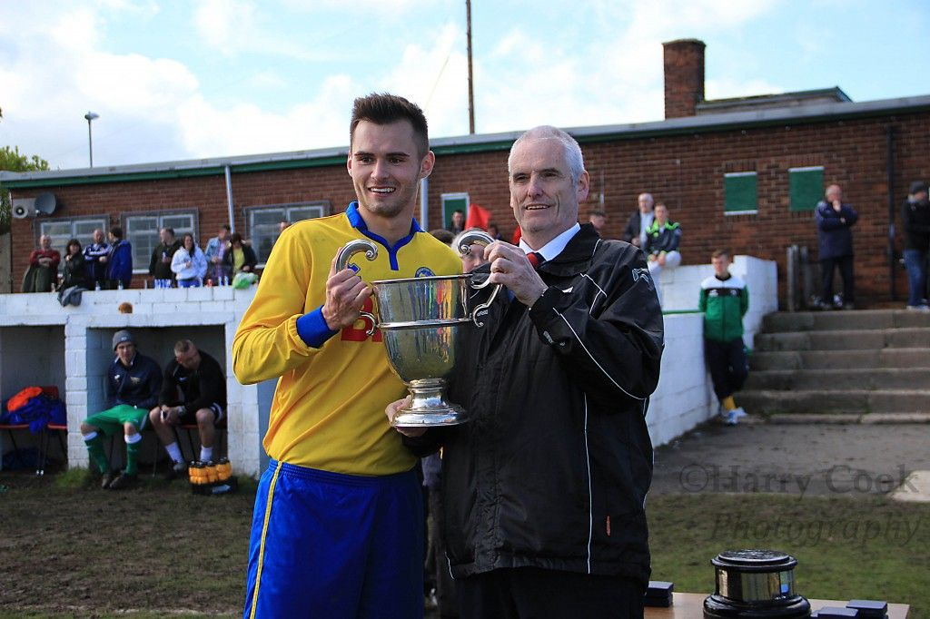 Wearside League cup final, EasingtonColiery AFC v Stockton Town