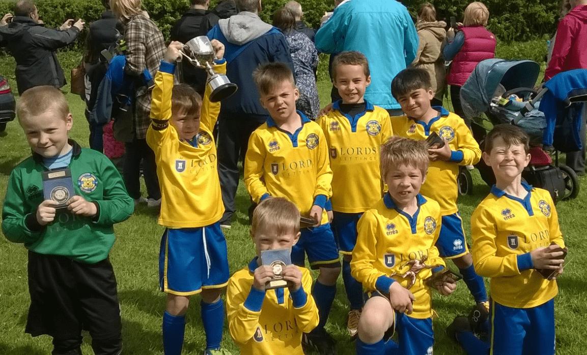TJFA 2015 U7 Winners