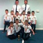 U7 Durham White Division Winners 2013/2014