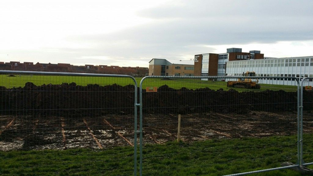 Construction starts on the new 3G Stadium development at Stockton Town & Stockton 6th Form College.