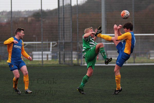 Tony Johnson enjoyed a fine game for Stockton and was instrumental in our 1st goal yesterday.