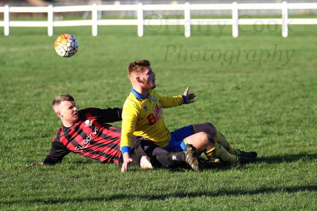 Kallum Hannah scored his 150th goal for the Club in todays victory over Ashbrooke Belford House.