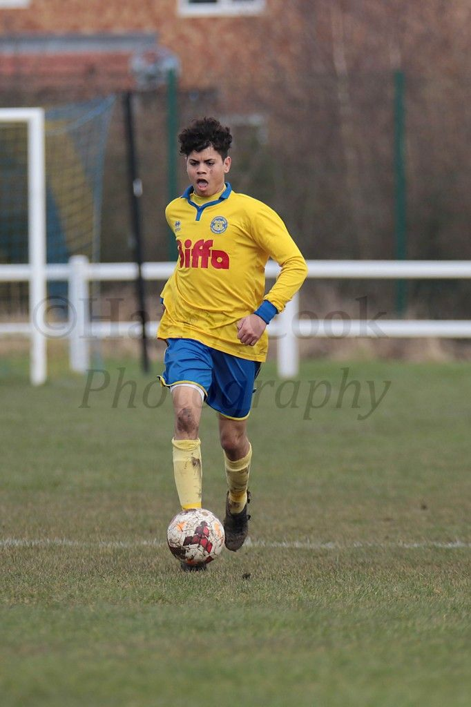 Dylan McAvoy was the latest of 5 players to step up from the U18's in recent weeks.