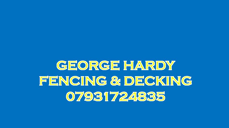 gEORGE hARDY fENCING