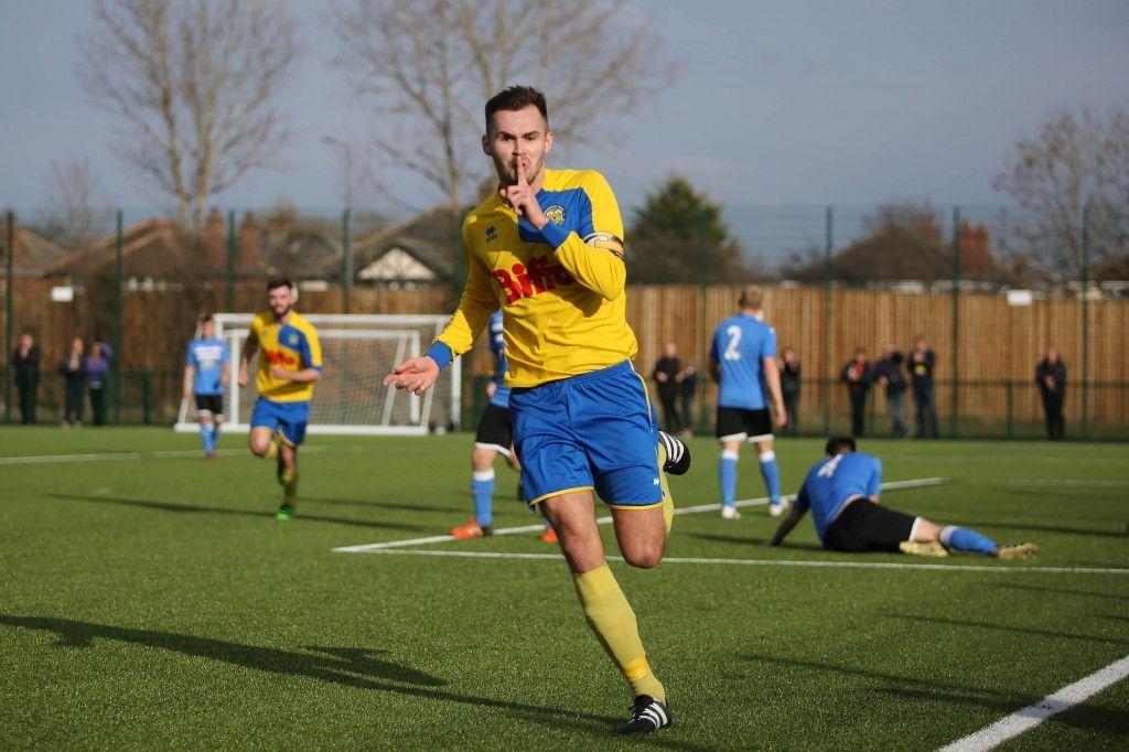 Captain Adam Nicholson grabbed the winner to secure the League Title.