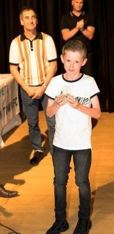 Leo Whalley - 2016/17 U10 Yellows Players Player of the Year