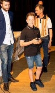 Ethan Hobson - 2016/17 U10 Yellows Managers Player of the Year