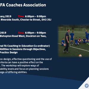 Durham County FA CPD Event