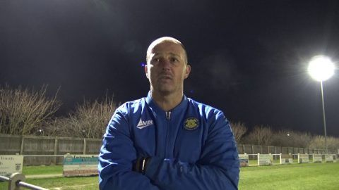 POST MATCH REACTION: Michael Dunwell v Newton Aycliffe