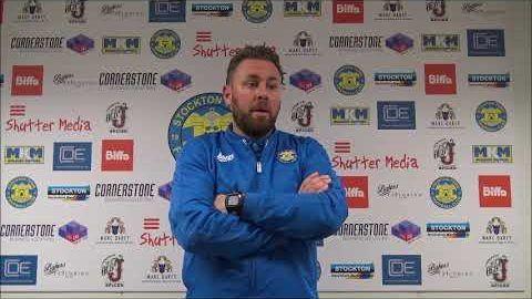 League Cup: Stockton Town v Consett AFC- 18/19