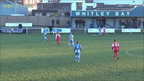 Whitley Bay v Stockton Town- 18/19