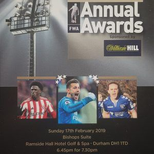 Club to Attend North East Football Writers Dinner
