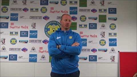 Post Match Reaction: Michael Dunwell v Redcar Athletic