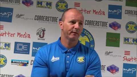 Post Match Reaction: Michael Dunwell v Ashington