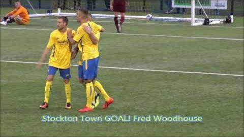 FA Cup Replay: Stockton Town v Nostell Miners Welfare- 19/20