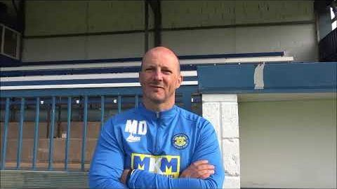 Post Match Reaction: Michael Dunwell v Billingham Town