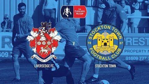 FA Cup: Liversedge v Stockton Town- 19/20