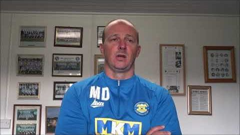 Post Match Reaction: Michael Dunwell v Durham City