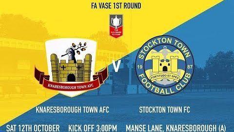 FA Vase: Knaresborough Town v Stockton Town- 19/20
