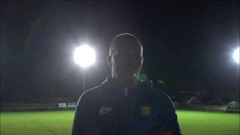 Post Match Reaction: Michael Dunwell v Ryton & Crawcrook Albion.