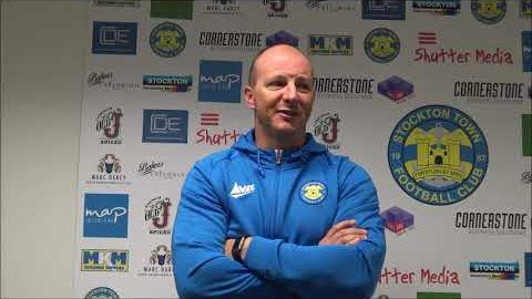Post Match Reaction: Michael Dunwell v Seaham Red Star
