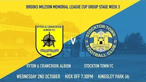 League Cup: Ryton & Crawcrook Albion v Stockton Town- 19/20