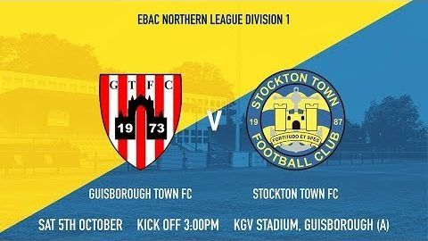 Guisborough Town v Stockton Town- 19/20