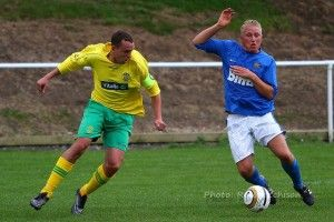 Tony Johnson came on at half time for the injured Chris Stockton.