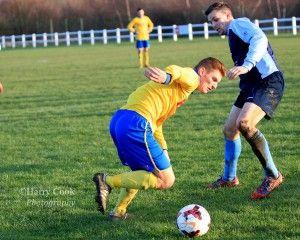 Centre Forward Kallum Hannah claimed his 9th hat trick of the Season against Redcar Athletic.