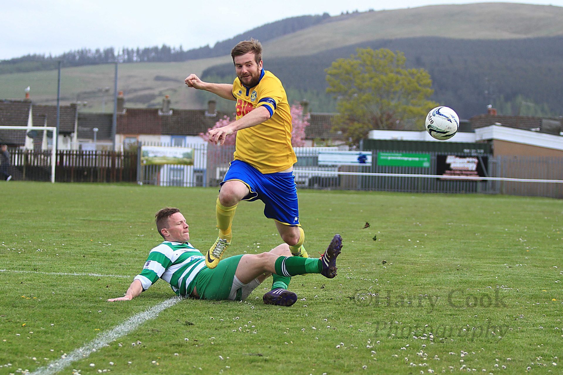 Adam Nicholson of Stockton Town FC