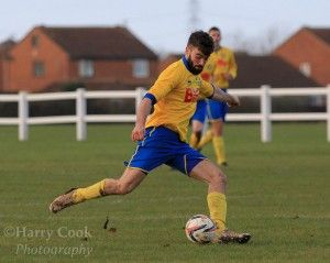 Tom Coulthard grabbed his 1st goal of the Season on his 1st start of the Season away at Prudhoe Town.