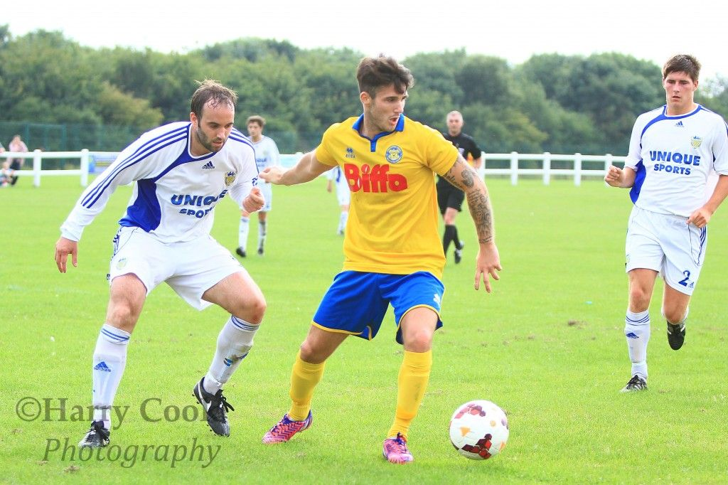 Chris Stockton grabbed his first hat trick of the season, helping fire Stockton Town into the second round of the Wearside League Cup.