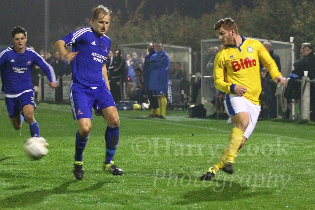 Stockton's all time leading goalscorer Kallum Hannah reached another milestone when scoring his 150th goal for the Club.