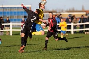 Captain Stav Roberts got on the end of Stocko's cross to score with a diving header.