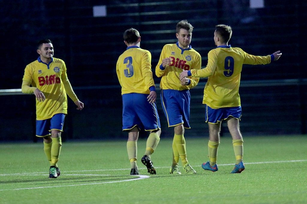 Joe Scaife Wheatley curled a fantastic late free kick into the top corner to complete the 4 0 victory.
