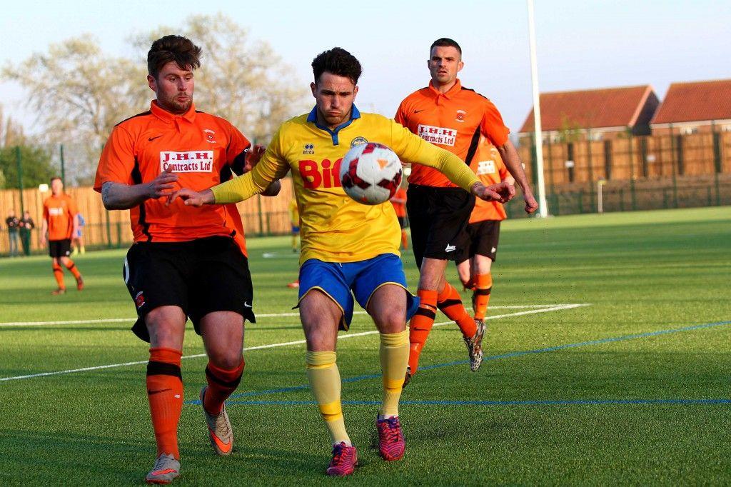 Forward Chris Stockton enjoyed a fine half and grabbed himself a goal.
