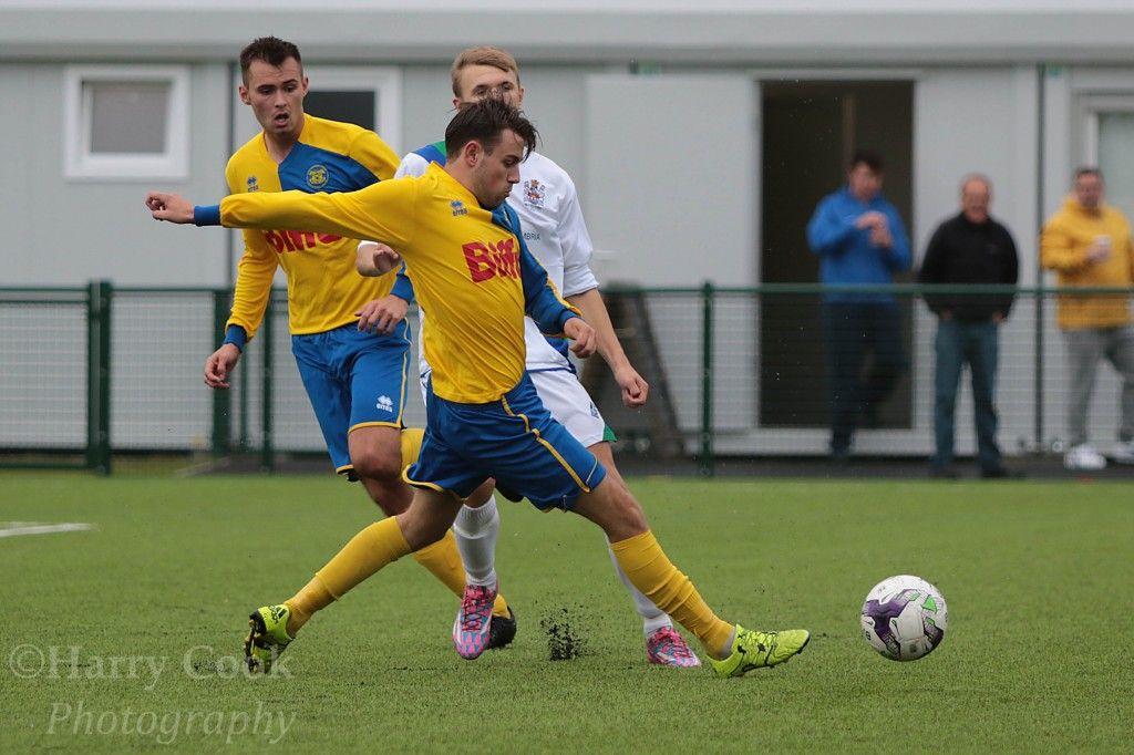 Joe Scaife Wheatley scored a fantastic second to see off Eccleshill United.