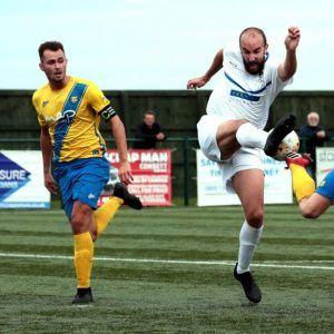 Anchors v The Steelmen in League Cup Quarter Final