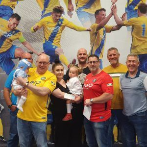 Stockton Town Supporters Club Help Young Stockton Boy