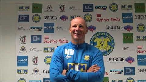 Post Match Reaction: Michael Dunwell v Whitby Town
