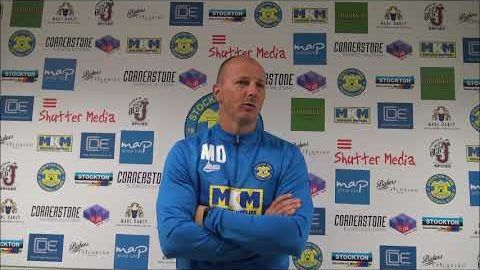 Post Match Reaction: Michael Dunwell v Spennymoor Town