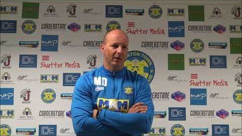 Post Match Reaction: Michael Dunwell v Nostell Miners Welfare