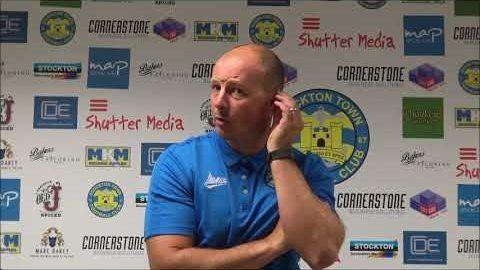 Post Match Reaction: Michael Dunwell v Newton Aycliffe
