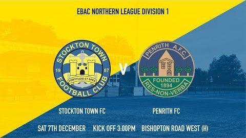 Stockton Town v Penrith- 19/20