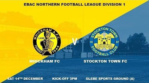 Whickham v Stockton Town- 19/20